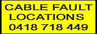 Cable Fault Locations 0418 718 449